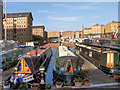 SO8218 : Victoria Dock, Gloucester by David Dixon