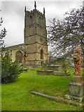 ST7593 : St Mary's Church Tower by David Dixon