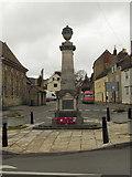 ST7593 : Wotton under Edge War Memorial, by David Dixon