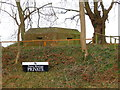 SU1561 : Pewsey Wharf - Pillbox by Chris Talbot