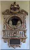 SU1872 : Monument to William Goddard - St Andrew's church, Ogbourne St Andrew by Mike Searle
