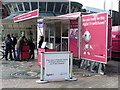 SZ0891 : Bournemouth: digital switchover information in The Square by Chris Downer
