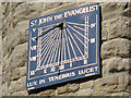 TQ1868 : St John the Evangelist: sundial by Stephen Craven