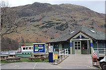NY3916 : Glenridding steamer pier by Jim Barton