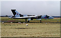 NY4861 : A Vulcan bomber at Carlisle Airport by Walter Baxter