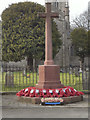 SO8463 : Ombersley, War Memorial and St Andrew's Church by David Dixon