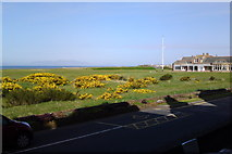 NS3229 : Royal Troon Golf Course, Old Course Clubhouse by Chris Morgan