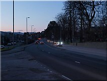 NS4175 : Stirling Road at dusk by Alec MacKinnon