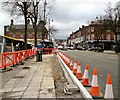 SJ9494 : New Kerbing on Market Street by Gerald England