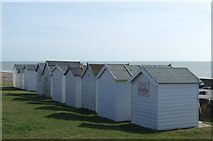 TQ7306 : Beach huts, Bexhill by JThomas