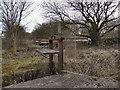 SD7909 : Sluice Gate, Bealey's Goit by David Dixon