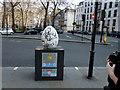 TQ2880 : Egg 149 in The Fabergé Big Egg Hunt by PAUL FARMER