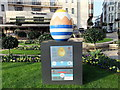 TQ2880 : Egg 129 in The Fabergé Big Egg Hunt by PAUL FARMER