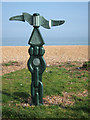 TR3752 :  National Cycle Network Milepost by Oast House Archive