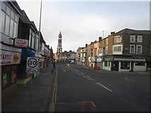 SD3035 : Central Drive, Blackpool by Ian S