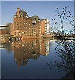 TA1029 : River Hull reflections by Paul Harrop