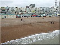 TQ3103 : Brighton Beach (East) by JThomas