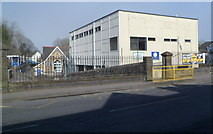 SS6188 : Southern side of Oystermouth Primary School, Mumbles by Jaggery