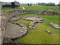NY7766 : South-west part of Vindolanda Roman Fort by Andrew Curtis