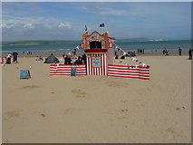 SY6879 : Weymouth - Punch & Judy by Chris Talbot