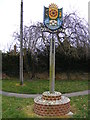 TM5286 : Kessingland Village Sign by Adrian Cable