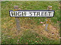 TM5286 : High Street sign by Adrian Cable