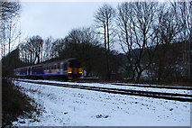 SE0026 : A passing train on the Caldervale Lane by Phil Champion