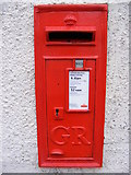 TM5286 : High Street George V Postbox by Adrian Cable