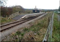 SO2508 : Blaenavon (High Level) railway station in April 2011 by Jaggery