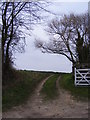 TM4788 : Green Lane Byway by Geographer