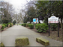 SJ8195 : Seymour Park by David Dixon