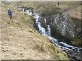 NN3126 : Crossing the Allt Coire Dubchraig by Liz Gray