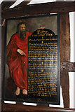 SJ8567 : Moses with four of the ten commandments by Peter Turner