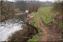 NT5675 : Path to Haddington by the River Tyne by Jim Barton
