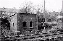J3582 : Old signal cabin, Whiteabbey by Albert Bridge