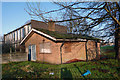 SJ8292 : Disused bungalow at the former Chorlton Park Secondary School, Mauldeth Road West by Phil Champion