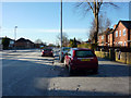 SJ8192 : Pavement parking on Hardy Lane, Chorlton by Phil Champion