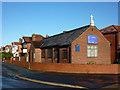 SJ8192 : Church of St Barnabas, Hurstville Road, Chorlton by Phil Champion