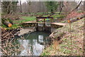 NT5475 : Sluice gate upstream of Sandy's Mill by Jim Barton