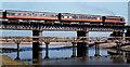O1671 : Laytown railway viaduct by Albert Bridge