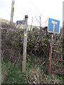 SJ1031 : Bridlepath sign near Tyn-y-fedwen by Jenni Miller