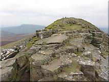 SO2718 : Rocky summit of Sugar Loaf by Gareth James