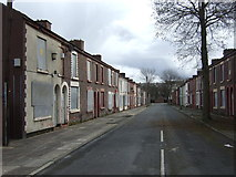 SJ3688 : Boarded up houses, Kinmel Street by JThomas