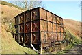SJ1267 : Disused Water Tank on the Clwydian Way by Jeff Buck