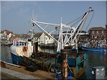 SY6778 : Weymouth - Fishing Boat by Chris Talbot