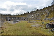 SK1373 : Millers Dale Quarry by Ashley Dace