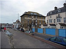 SY6878 : Weymouth - Commercial Pier by Chris Talbot