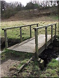 NZ3166 : Bridge Over Wallsend Burn by Christine Westerback