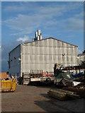 SO8453 : AMDAC Carmichael factory, Lower Wick by Chris Allen
