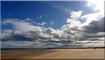 NH8089 : The infinity of Dornoch beach by Julian Paren
